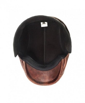 c43358d0f6bd68 Available. LETHMIK Flat Cap Cabby Hat Genuine Leather Vintage newsboy Cap  IVY Driving ...