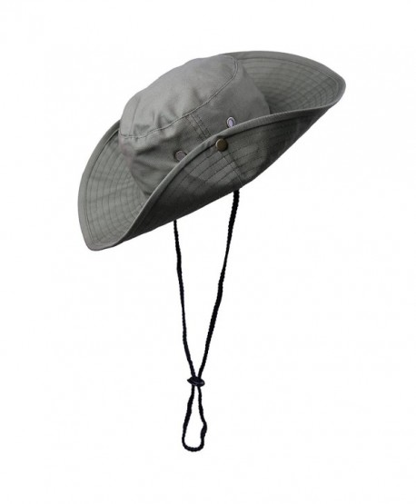 HDE Bucket Hat Bora Bora Booney Wide Brim Outdoor Sun Hats - Olive Green -  CZ184WXZN7I 30a2687d1e5e