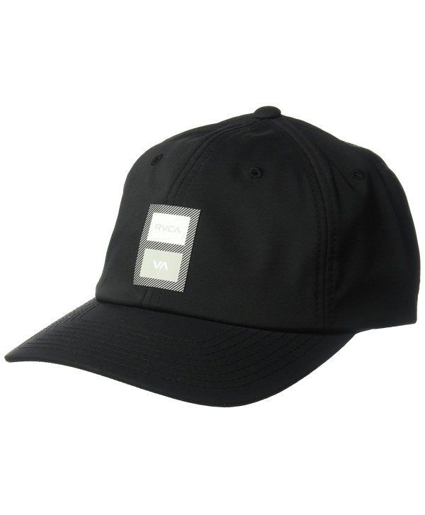 RVCA Men's VA Sport Trainer Hat - Black - CN12O3Y172I