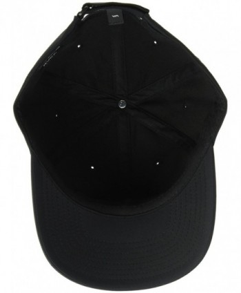 RVCA Mens Sport Trainer Black in Men's Baseball Caps