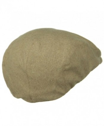 Big Size Elastic Wool Head in Men's Newsboy Caps