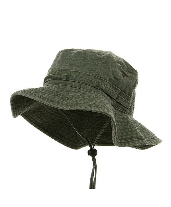 Fishing Hiking Outdoor Hat (02)-Olive W10S30F - CL1118PG3YZ