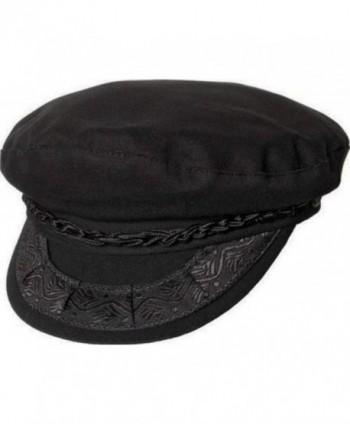 Greek Fishermans Hat Wool Black
