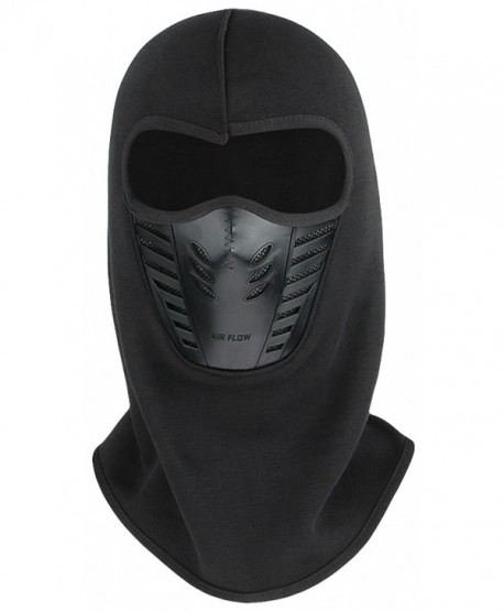 Gemvie Outdoor Motorcycle Cycling Ski Balaclava Wind Stopper Face Mask - Black - C512NW5PM0I