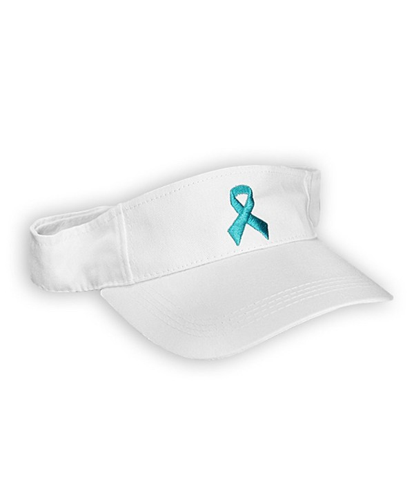 Fundraising For A Cause Teal Ribbon Visor - (Retail) - CT117JTA8GH