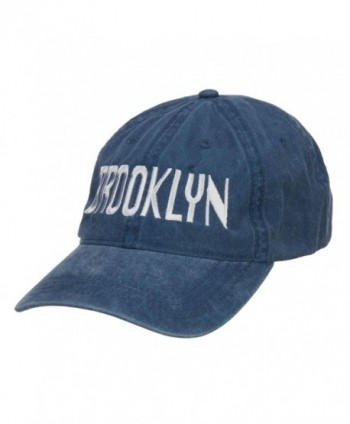 E4hats Brooklyn Embroidered Washed Cap