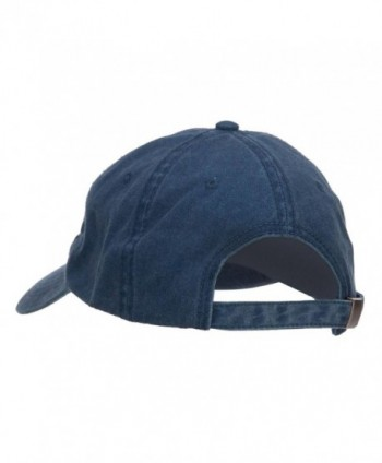 E4hats Brooklyn Embroidered Washed Cap in Men's Baseball Caps