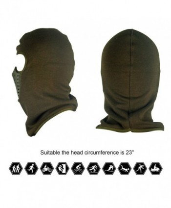 Balaclava Breathable Silicone Winter Fleece