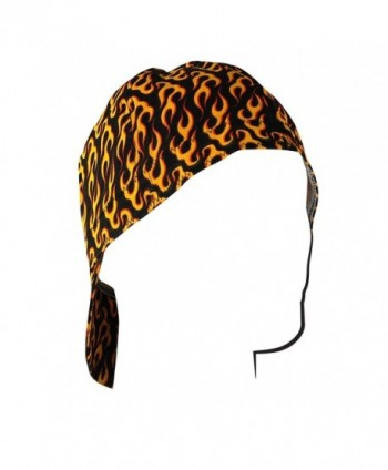 "ZANheadgear Welder Cap with Flames Design (Black/Orange- 7.5"") - C4110JBLNCB"
