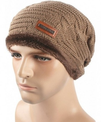 Toptim Lined Unisex Winter Beanies