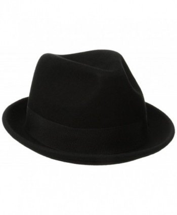 Goorin Borthers Men's Good Boy Fedora - Black - CD11KI0EP1J