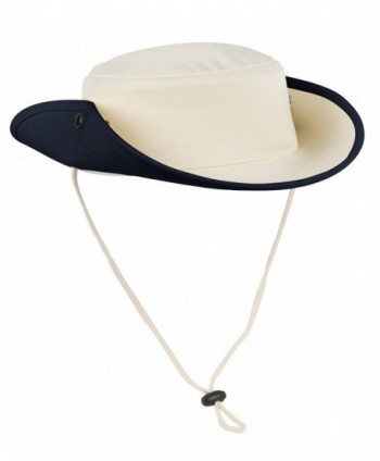 Port Authority Men's Classic Outback Hat - Navy/Canvas - CP1196SIDHB