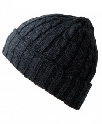 Winter Comfort Knitted Beanie Charcoal