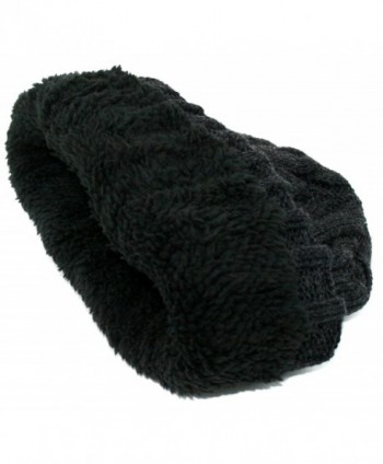 Winter Comfort Knitted Beanie Charcoal in Men's Skullies & Beanies