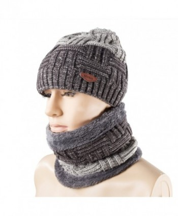 Winter Beanie Knitting Slouchy REDESS - Dark Grey - CE1884MO8NX