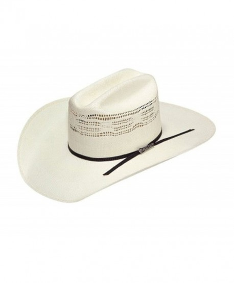Ariat Unisex Bangora Cowboy Hat - Tan/Black Band - CC11XEXG33P