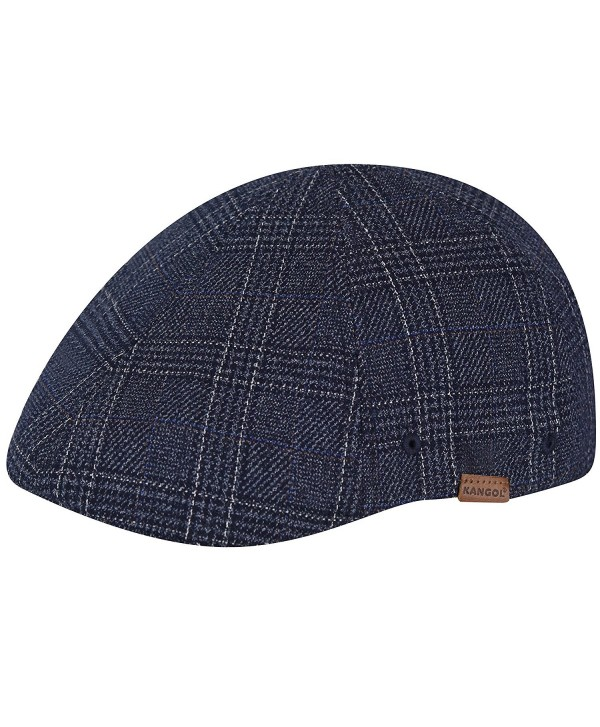 Kangol Men's Pattern Flexfit 504 - Navy Check - C517YIYX30R