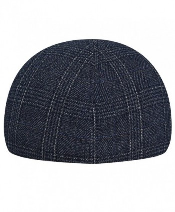 Kangol Mens Pattern Flexfit Check in Men's Newsboy Caps