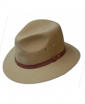 Dobbs Gable Safari Hat - Khaki - CQ110TUNW7B