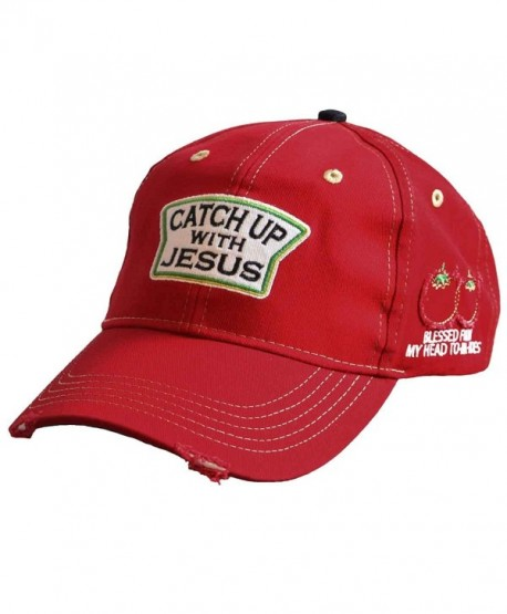 Kerusso Catch Up With Jesus Funny Christian Hat - C517Y2CETZ4