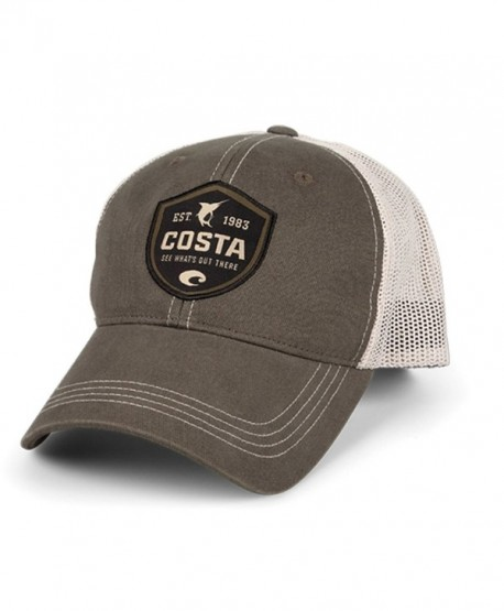 Costa Shield Trucker Hat - Moss/Stone - C311B303LAD
