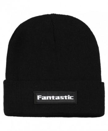 Fantastic Zone Winter Acrylic Slouchy - Black - C01898Q5ZYK