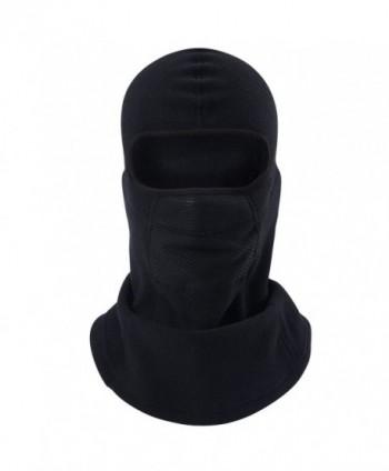 MIFULGOO Windproof Balaclava Fleece Balaclava black2