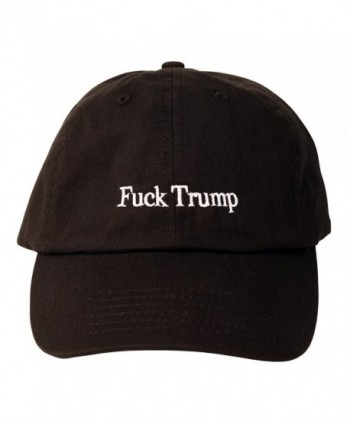 Fuck Trump Dad Hat (Black) - CT17YI9O66W