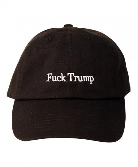 Fuck Trump Dad Hat (Black) - CT17YI9O66W