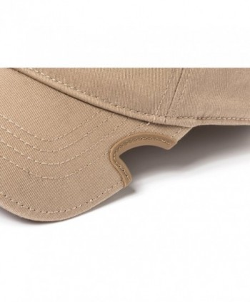 Notch Classic Stretch Fit Tan Operator Cap - Tan - CF12L0Y3DWD
