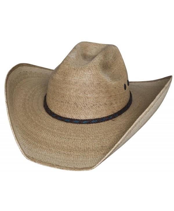 Bullhide Legal Catch 20X Palm Leaf Straw Western Hat 2757 - CC11DRPJB9X