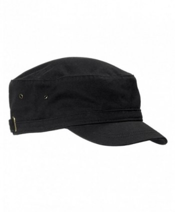 Big Accessories Short Bill Cadet Infantry Cap BA501 - Black - CG11M9BJJYD