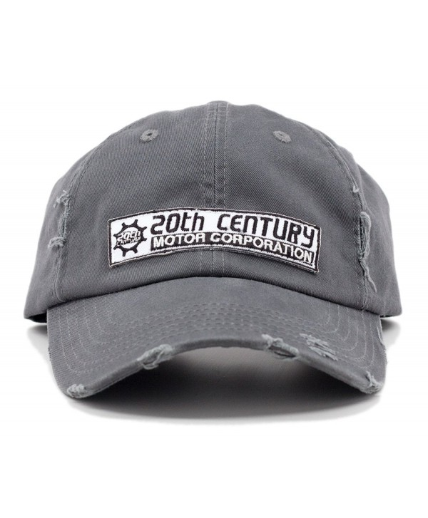 Official Atlas Shrugged 20th Century Motor Cap Grey - CO11DFHPAVP