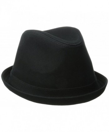 Levi's Men's Solid Fedora Hat - Black - CE126K2J53L