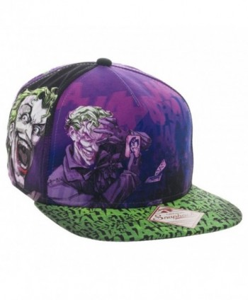 DC Joker All-Over Print Trucker Hat - CC12FX7UQH3