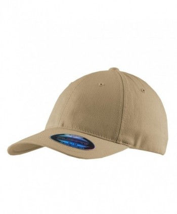 Port Authority Men's Flexfit Garment Washed Cap - Khaki - CV11NGRZKZL