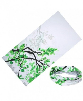Colorpole Flower Fashion Design Magic Headwear Bandana - Tree Blossom - CC12J3MGN49