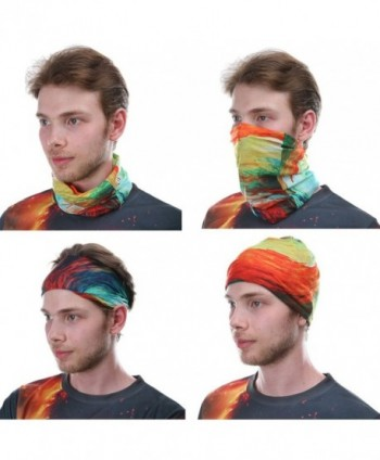 Colorpole Flower Fashion Headwear Bandana in Men's Balaclavas