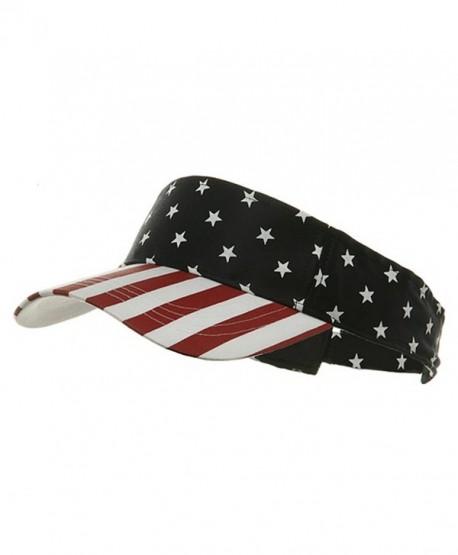 USA Flag Visor-USA Star Stripe W40S44B - C3111CSPDMV