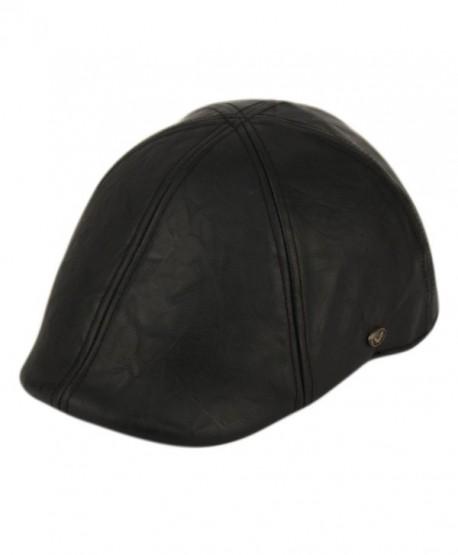 Flat Cap Vintage Cabbie Hat Gatsby Ivy Cap Irish Hunting Newsboy - Black - CF12O1PR9MJ