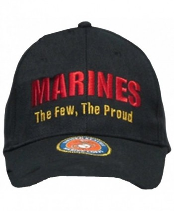 Buy Caps and Hats U.S. Marine Corps USMC Insignia Hat Cap Black Marines US Military Baseball Caps - CE11AXOTP05