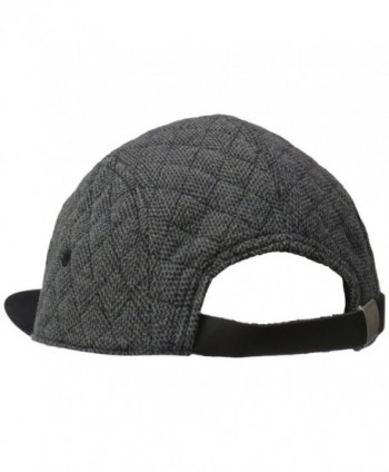 Coal CLIVE Quilted Adjustable Charcoal