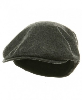 Big Size Elastic Wool Ivy Cap - Charcoal (For Big Head) - CT113HAJPJ3