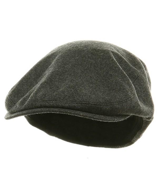 Big Size Elastic Wool Ivy Cap - Charcoal (For Big Head) - CT113HAJPJ3