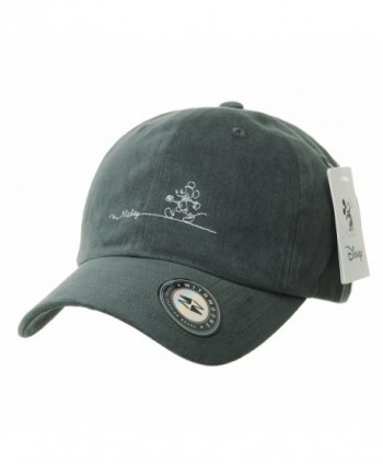 WITHMOONS Baseball Cartoon Embroidery Ballcap - Grey - C5189HNRTC0