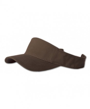 Blank Brown Adjustable Visor - C5111GX6EQV
