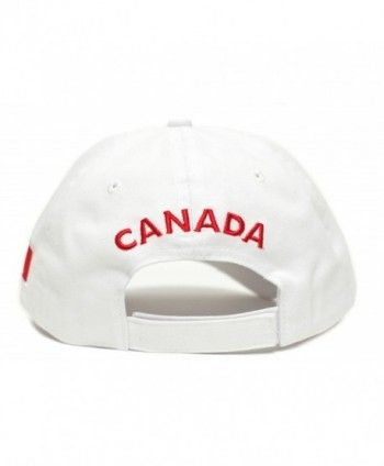 Canada Canadian Flag Embroidered One Size in Men's Baseball Caps