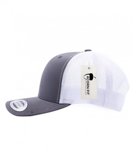 f84dee51709c20 Acorn Acornfit Yupoong Classic 6606- 6606T- 6606W- Retro Trucker Hats- Mesh  Back