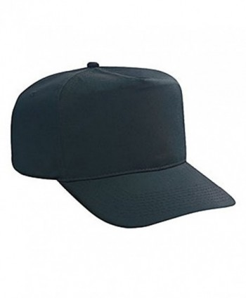 Hats & Caps Shop Cn Twill High Crown Golf Style Caps - By TheTargetBuys - Black - CF11QKG3K9N