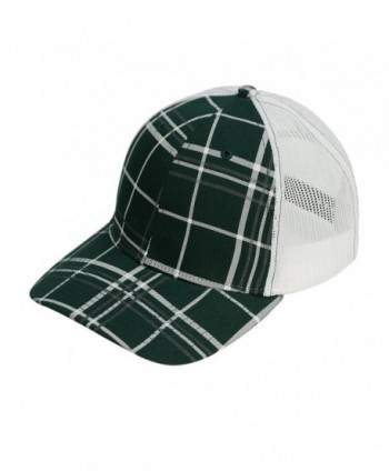 Richardson Printed Twill Mesh Back Trucker Snapback Hat - Dark Green - CK12F1I3B2B